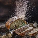 Vegan Onion Olives Bread